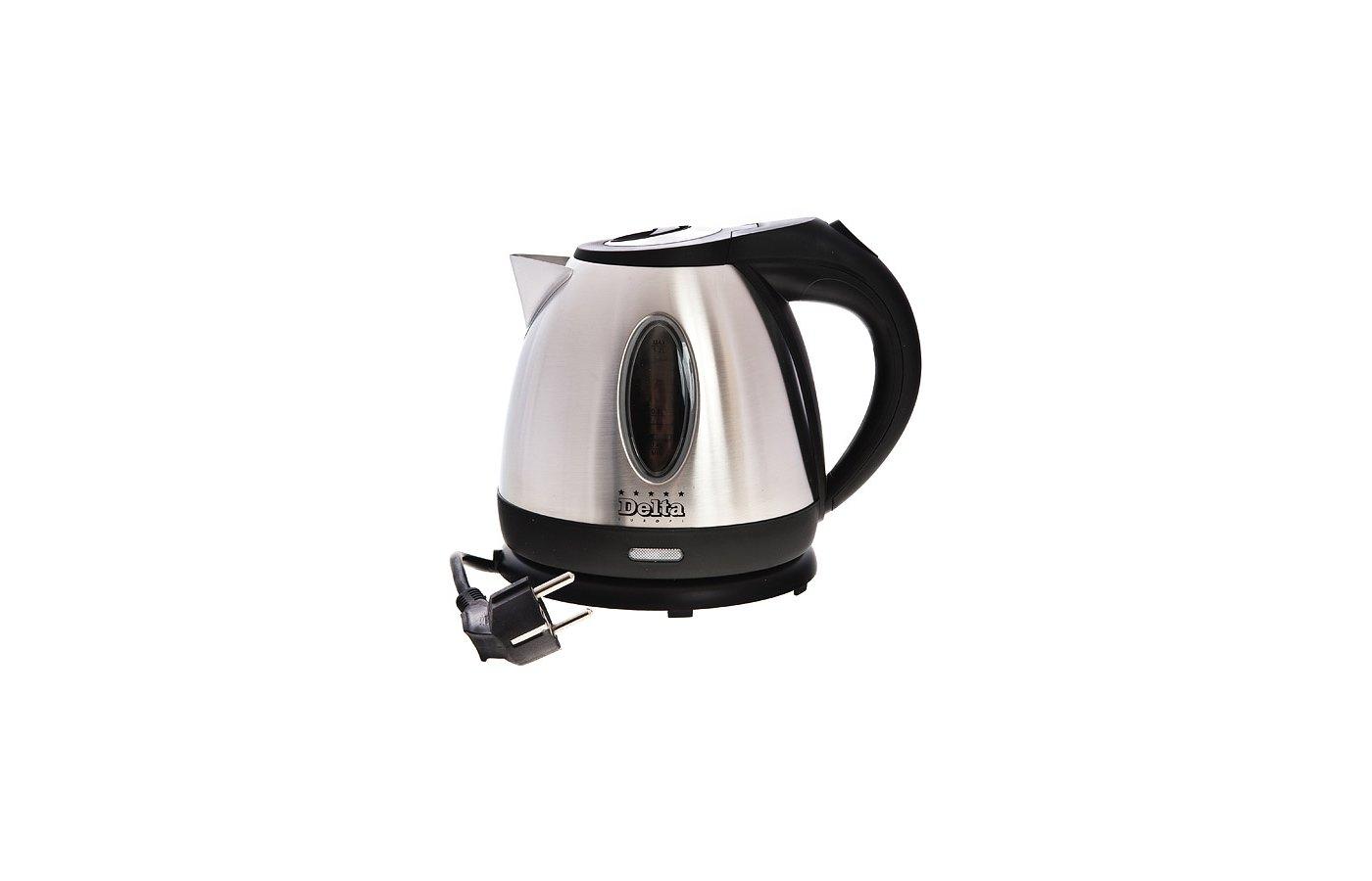 Чайник электрический  DELTA DL-1002IX