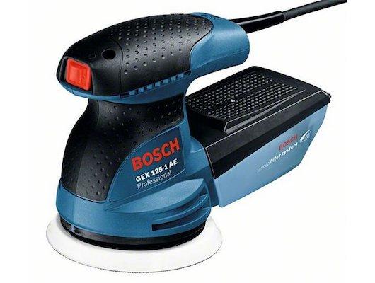 Эксцентриковая шлифовальная машина BOSCH GEX 125-1 AE Картон