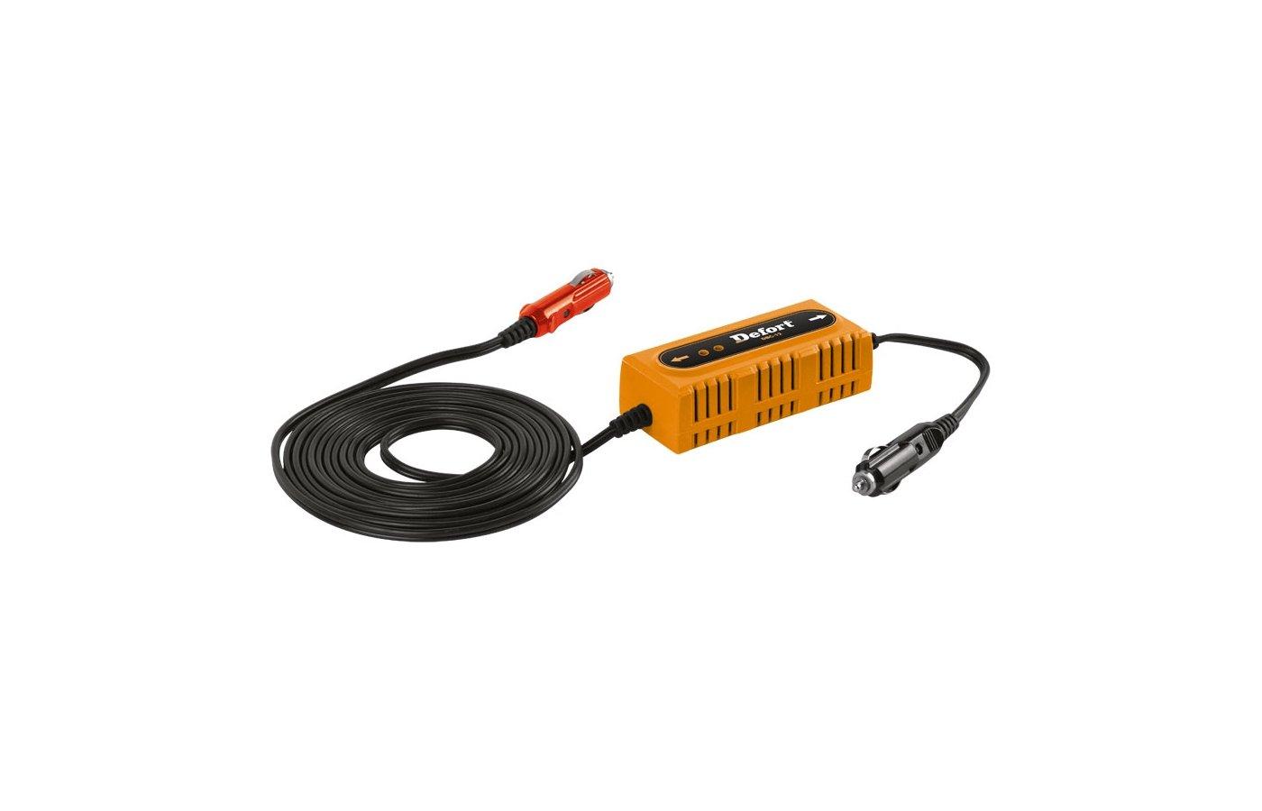 Автомобильное зарядное устройство DEFORT DBC-12