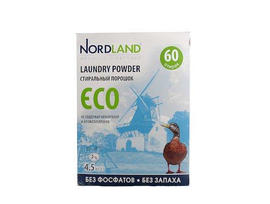 Средства для стирки и от накипи NORDLAND 390865 Стиральный порошок ECO 4.5 кг (Испания)
