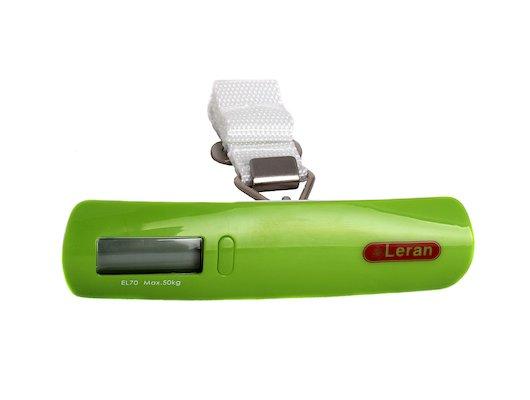 LERAN EL70-39 Весы для чемодана зеленые