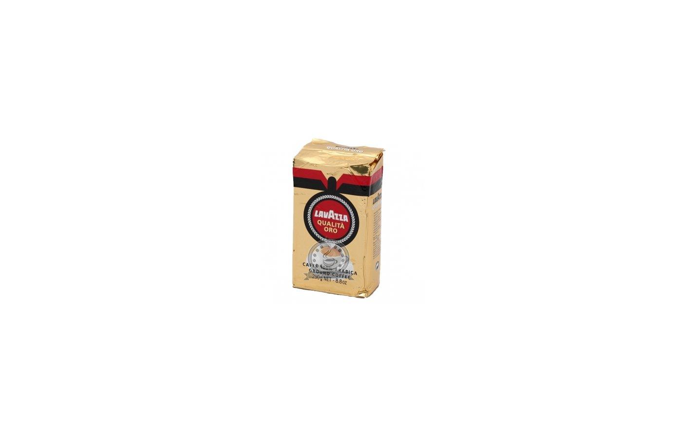 Молотый кофе Кофе Lavazza ORO молотый 250гр.вак.
