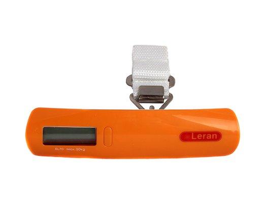 LERAN EL70-28 Весы для чемодана оранжевые
