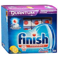 Таблетки для ПММ CALGONIT FINISH Quantum Lemon 60шт