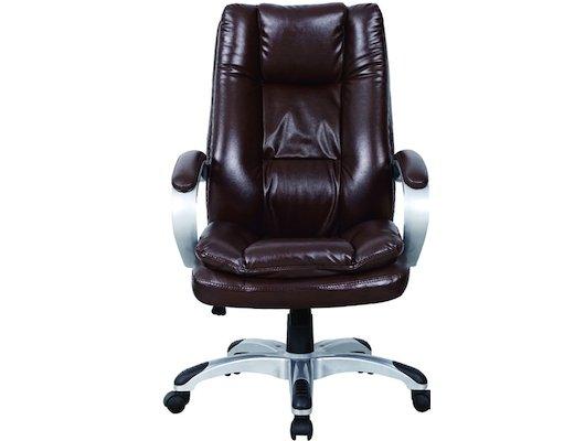 EXCOMP BY-6001 Кресло/кожзам/коричневый