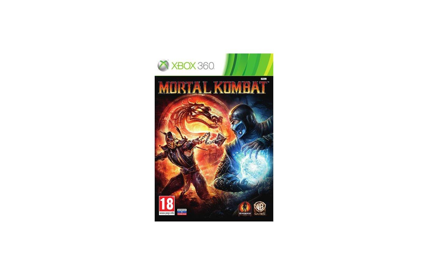 Mortal Kombat (Classics) Xbox 360 русская документация