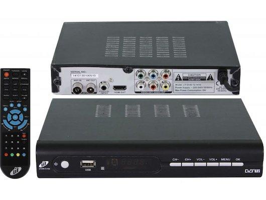 DVB-T2 ресивер BBK SMP016HDT2