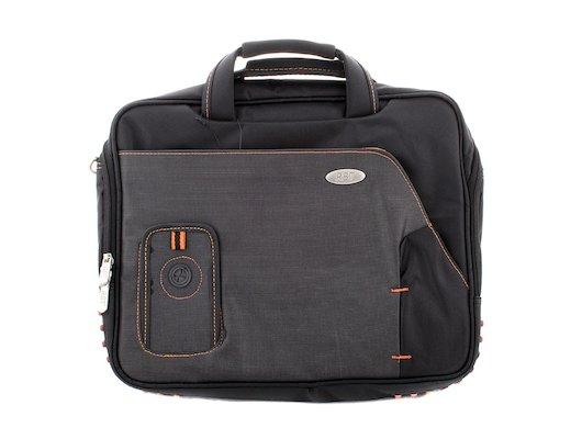Кейс для ноутбука RBT LSM 10010R 15.4/15.6 black with orange
