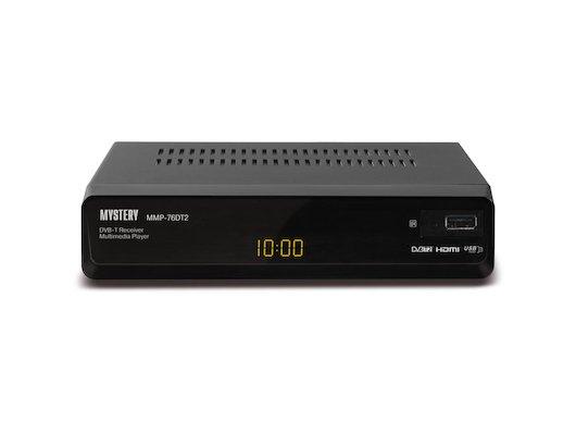 DVB-T2 ресивер MYSTERY MMP-76DT2