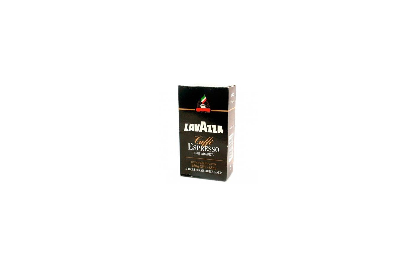 Молотый кофе Кофе Lavazza Espresso молотый 250гр.вак.