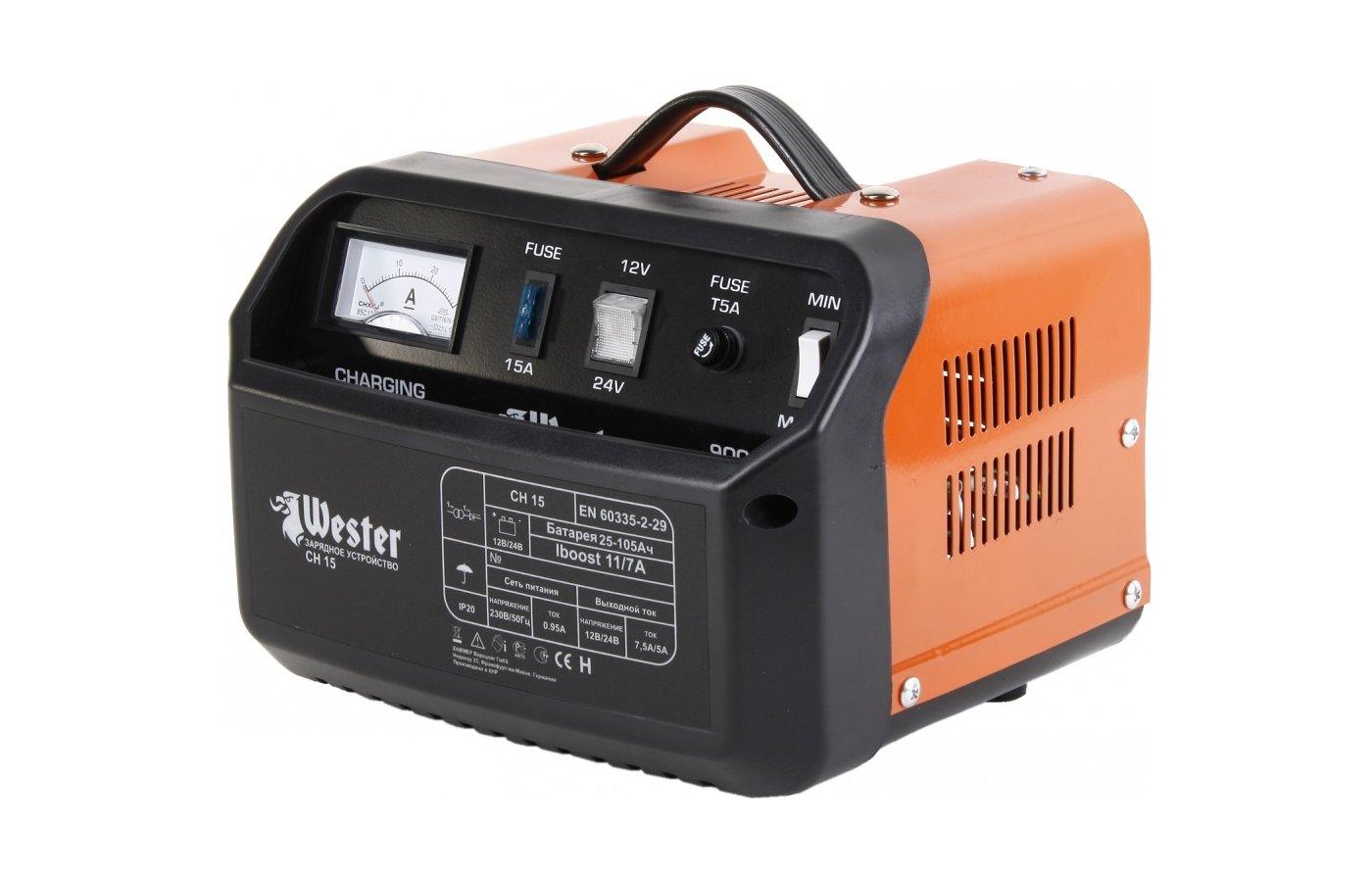 Автомобильное зарядное устройство WESTER CH15