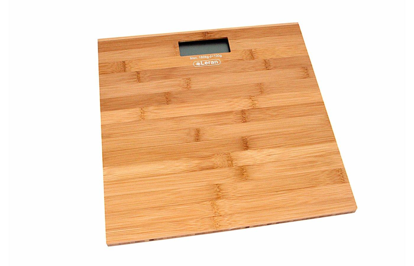 Весы напольные LERAN B003BS бамбуковые