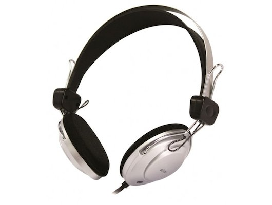Наушники с микрофоном проводные COSONIC CD721MV (Silver-Black)