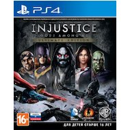Фото Injustice: Gods Among Us Ultimate Edition PS4 русские субтитры
