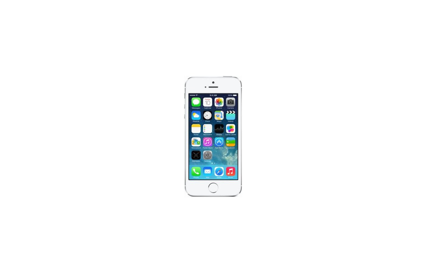Смартфон Apple iPhone 5s 16Gb silver ME433RU/A