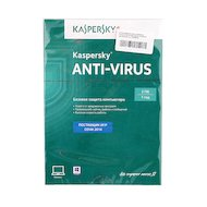 Фото Компьютерное ПО Kaspersky Anti-Virus 2014 Russian Edition. 2-Desktop 1 year Renewal Card (KL1154ROBFR)