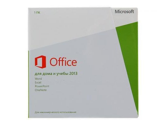 Компьютерное ПО MS Office Home and Student 2013 32/64 Russian Russia Only EM DVD No Skype (79G-03740)
