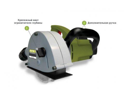 Штроборез IVT WC-150