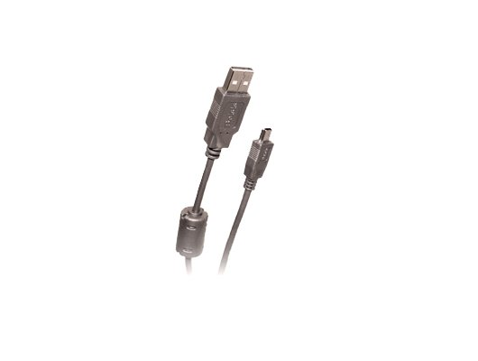 USB Кабель BELSIS BW 1420 USB 2.0 A вилка mini USB 5P с ф/фильтром 1.8м
