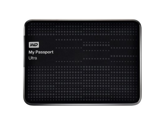 Внешний жесткий диск Western Digital WDBJNZ0010BBK-EEUE USB 3.0 1Tb My Passport Ultra (5400rpm) 2.5 черный