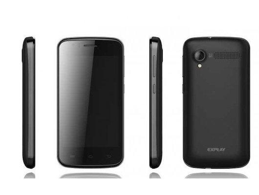 Смартфон Explay Atom черный