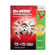 Компьютерное ПО Dr.Web Security Space 2 ПК/1 год