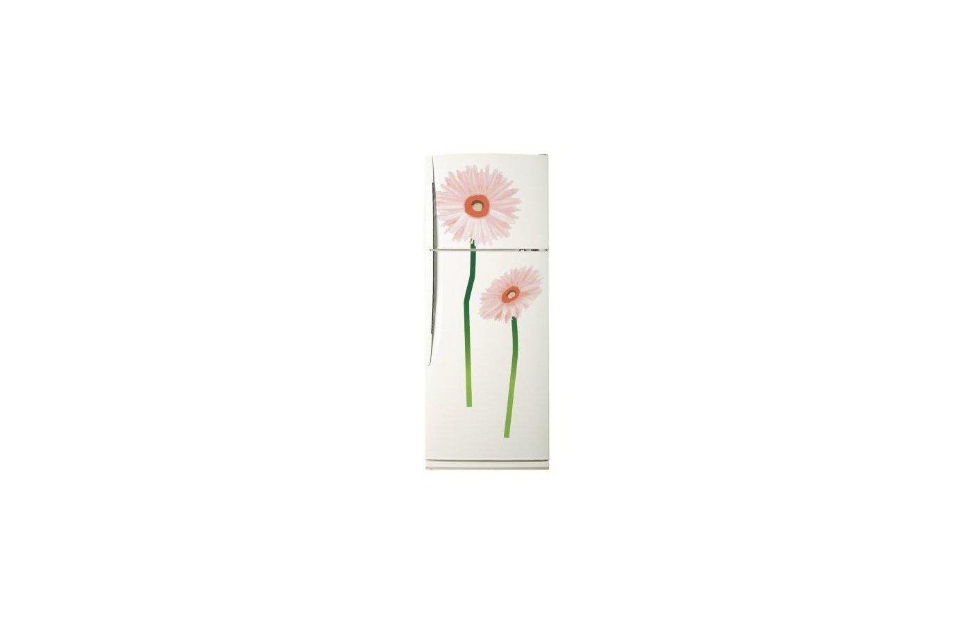 Аксессуар к холодильникам TOPPERR 7009 Декоративная наклейка для холодильников Красный цветок