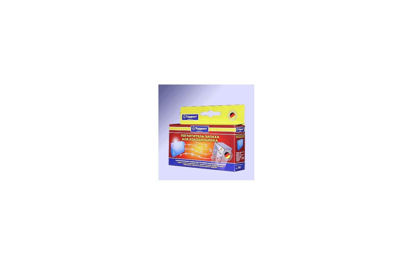 Аксессуар к холодильникам TOPPERR 3105 Поглотитель запаха д/холодильника набор из 2х шт