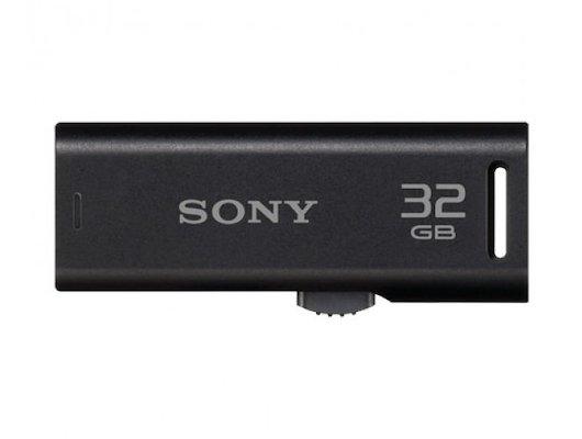 Флеш-диск USB 2.0 SONY USM32GR 32 Гб, черный
