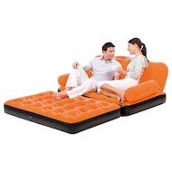 Кресло надувное BESTWAY 67356N Диван-кровать надувной c эл.насосом 188х152х64см