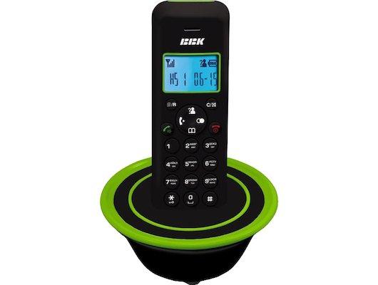 Радиотелефон BBK BKD-815RU black/green