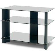 Телемебель Holder TV-1585/1 черный+черн. стекло