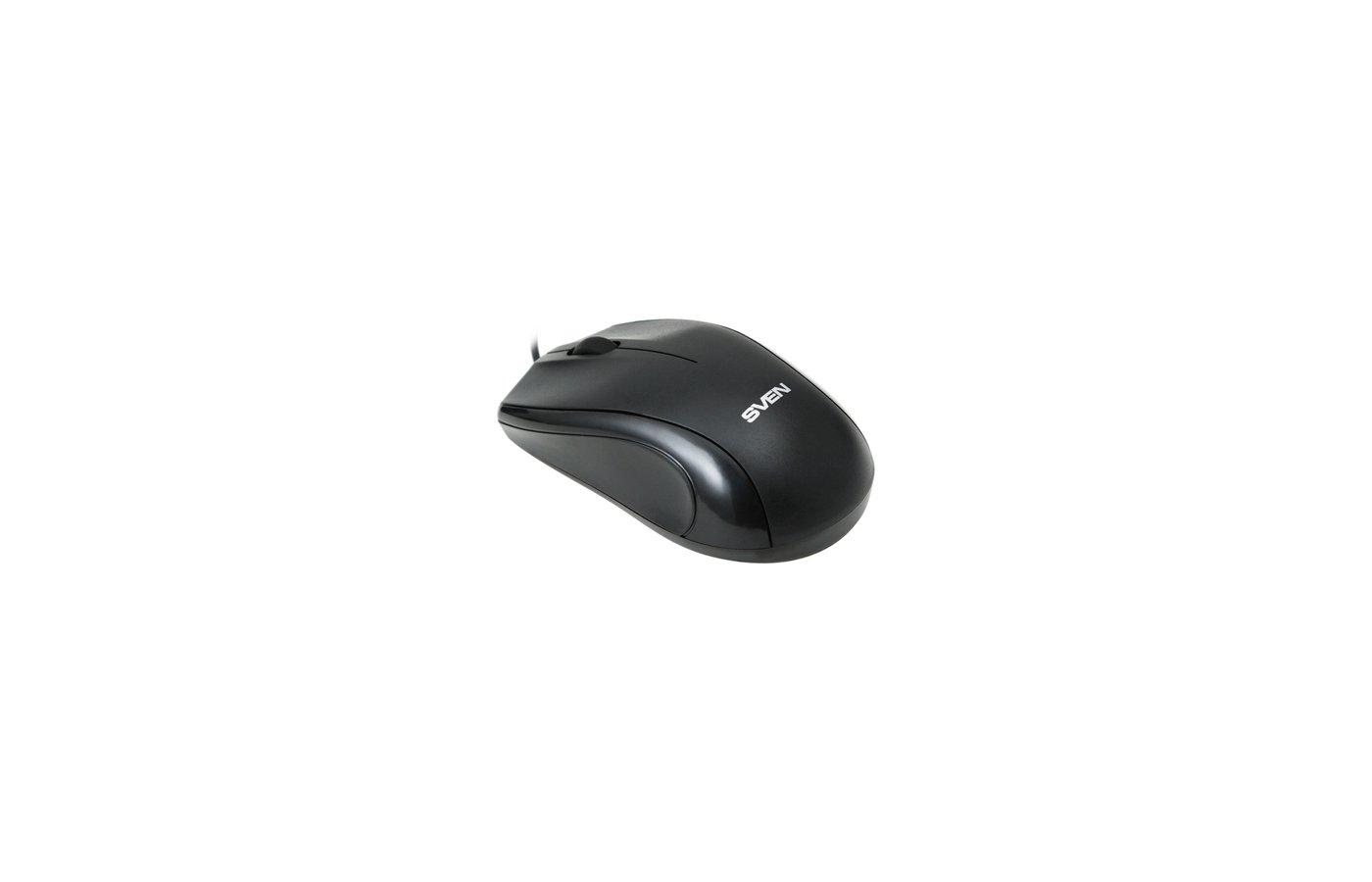 Мышь проводная SVEN RX-150 Black USB+PS/2