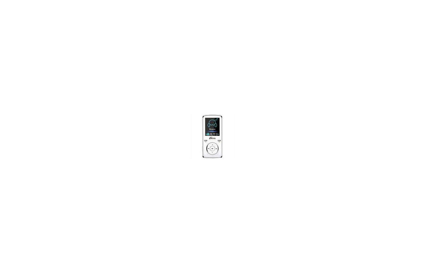 МР3 плеер Ritmix RF-4950 4Gb белый