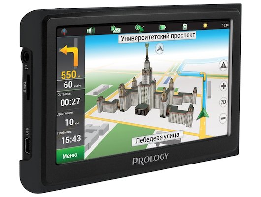 Навигатор PROLOGY iMAP-4300 Black