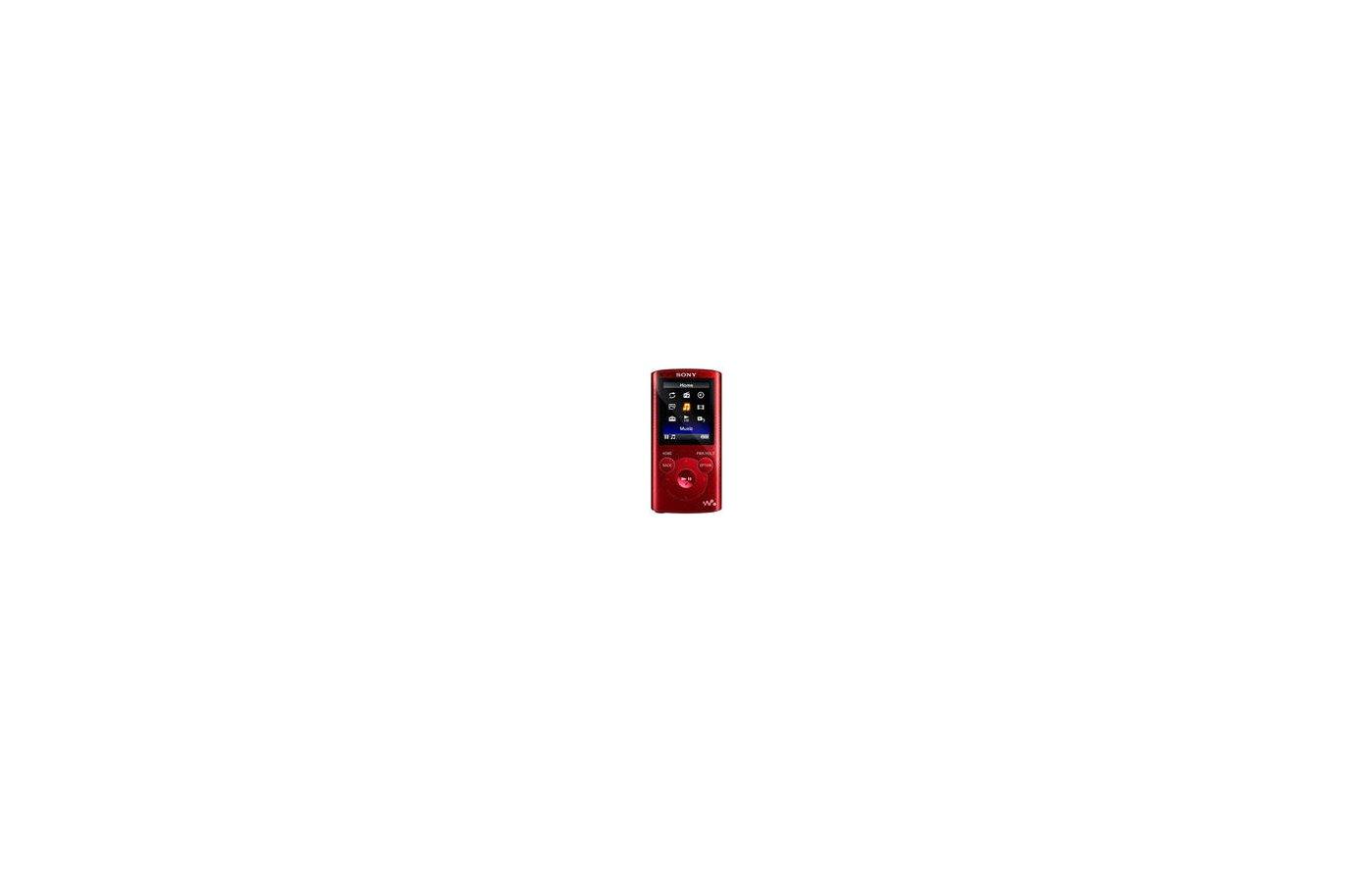 МР3 плеер SONY NWZ-E384 8Gb красный