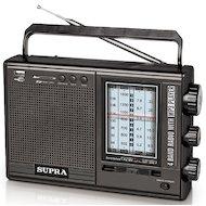 Фото Радиоприемник SUPRA ST-120 black