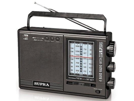Радиоприемник SUPRA ST-120 black