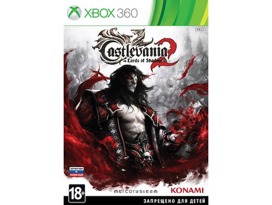 Castlevania: Lords of Shadow 2 Xbox 360 русская документация