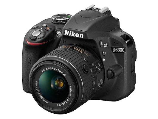 Фотоаппарат зеркальный Nikon D3300 18-55VR II black