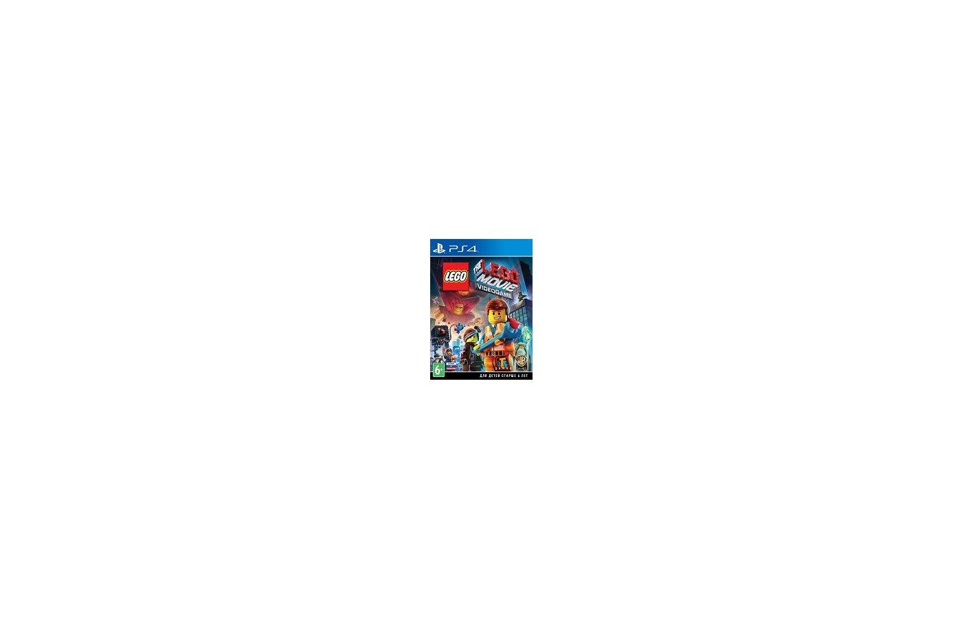 LEGO Movie Videogame PS4 русские субтитры