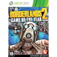 Фото Borderlands 2: Game of the Year Edition (Xbox 360 русская документация
