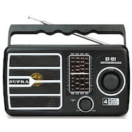 Радиоприемник SUPRA ST-121 black