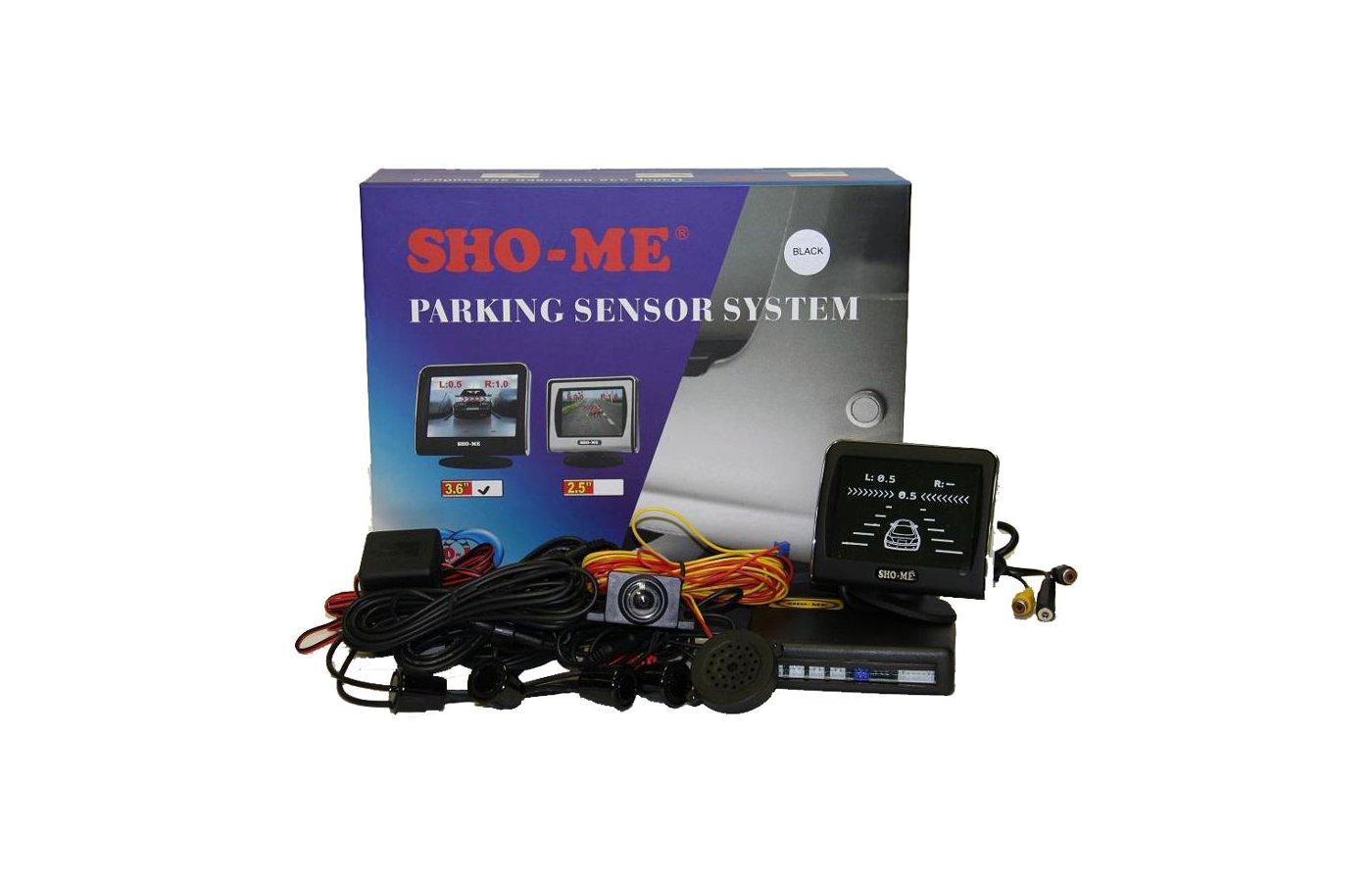 Парктроник Sho-Me KDR-36N04 black