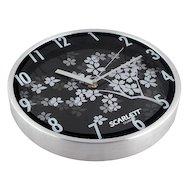 Фото Часы настенные Scarlett 33D плавный ход Металл