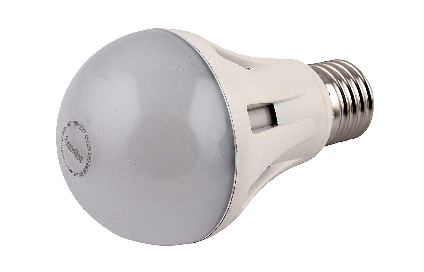 Лампочки LED Camelion LED10-A60/845/E27 (Эл.лампа светодиодная 10Вт 220В)