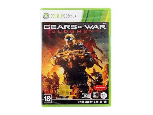 Gears of War Judgment Xbox 360 русская версия (K7L-00018)