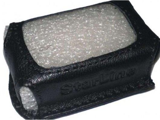 Сигнализация STARLINE B62/B92 кожа черный Чехол для брелока