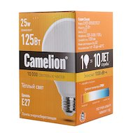 Фото Лампочки энергосберегающие Camelion LH25-G95/827/E27 (энергосбер.лампа 25Вт 220В)