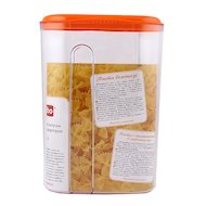 Фото контейнеры для продуктов БЫТПЛАСТ 4312508 емкость д/сып. продуктов 1.5л. с дозат.